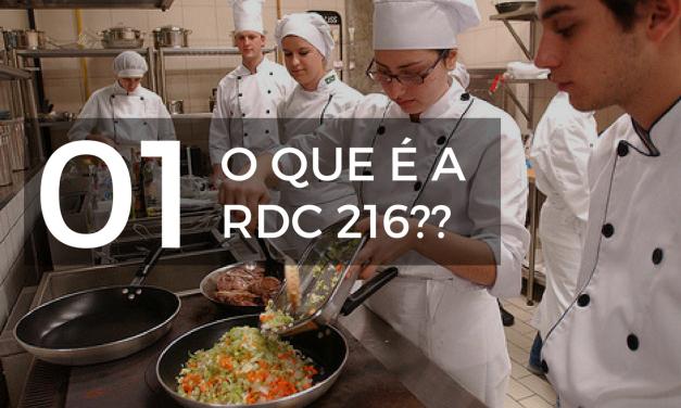 O que é a RDC 216?