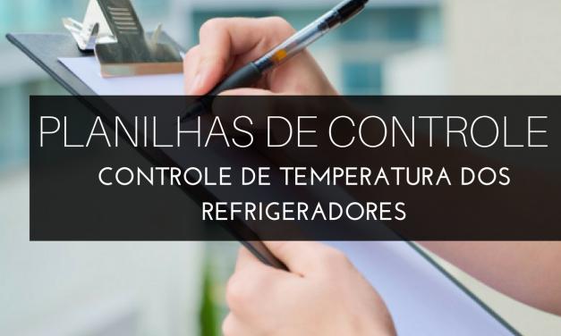 Controle de temperatura dos refrigeradores